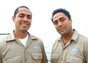 Antonio and Noah Otalvaro