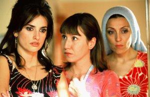 Penélope Cruz as Raimunda and Lola Dueñas as Sole in Pedro Almodovar's Volver