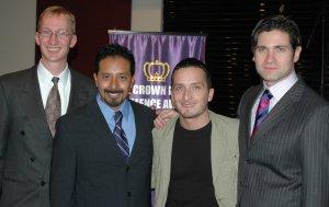 Sven Muhlenberg, Edward Acevedo, Obie Bermudez and Giovanni Sgro