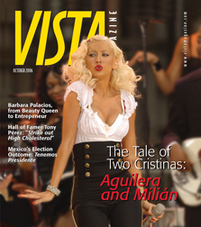 Vista Magazine cover October 2006