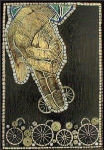Dios hace ruedas y desbarata ruedas by Jacqueline Brito