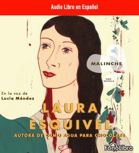 Malinche audio book cover