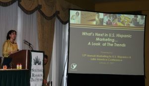 Sonya Suarez-Hammond, director, Multicultural Marketing Insights, Yankelovich, Inc.