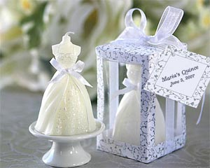 Quince gown candle