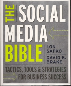 The Social Media Bible book cover