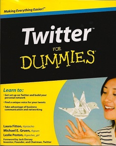 Twitter for Dummies book cover