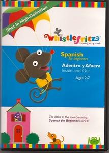 Whistlefritz Spanish for Beginners DVD cover