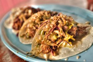 Carnitos Tacos at Mercadito Midtown