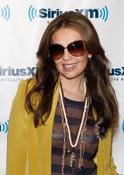 Thalia at SiriusXM Studio November 1, 2011 in New York City