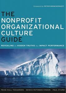 The Nonprofit Organizational Culture Guide book cover