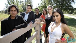 The cast of Melodia de Amor on Tutele