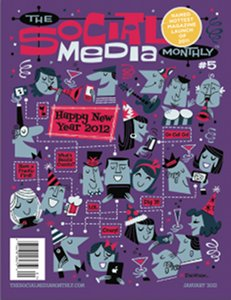 The Social Media Monthly magazine January 2012