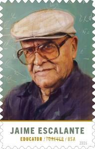 Jaime Escalante US stamp