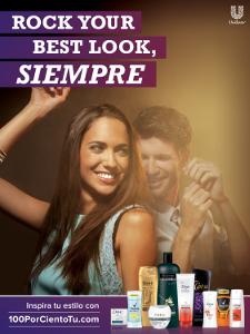 Unilever 100porcientotu campaign image