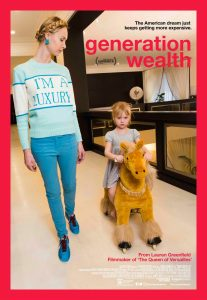 Theatrical one-sheet for Generation Wealth
